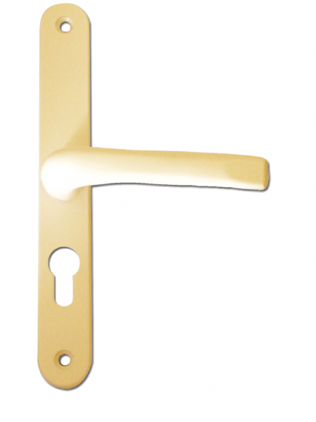 48-200 UPVC Door Handle - Gold